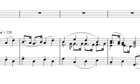 Koorklank - Ons liedje over de koe pagina 1